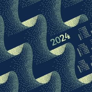 2021 Calendar, Sunday / Aurora