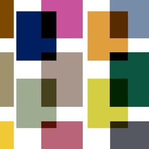 Color Block . Mid-Century Bright #2