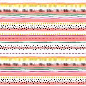 Painted Stripe by Angel Gerardo