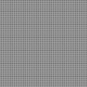 Plaid 2 White, Light Grey, Dark Grey, Black 1:6