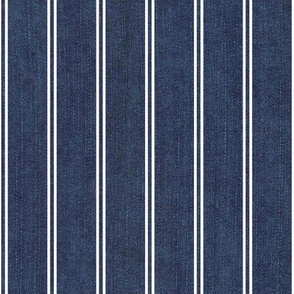Noble blue with stripes