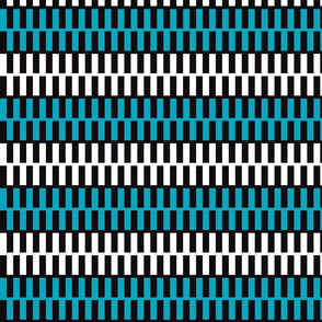 Teal and White Zipper Upholstery Fabric