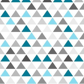 Blue Gray Triangle