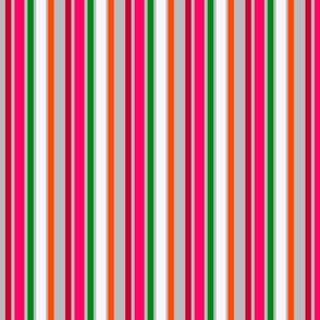 Francheska's Rose Garden -grey stripes