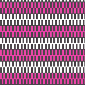 Pink and White Zipper Upholstery Fabric
