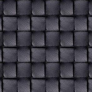 Black Leather Weave