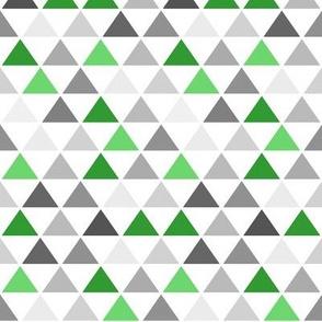Green Gray Triangle