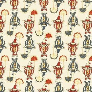 Vintage Short Clowns - Vintage White
