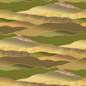 After the Rains, Leadlight Landscape -Medium Scale