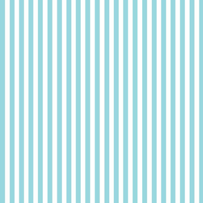 Blue and white stripes small // trendy kids nursery baby boy sea ocean marine nautical paradise island curtains bedding crib sheet