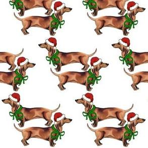 Christmas_Dachshunds