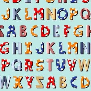 Circus Alphabet (Light)