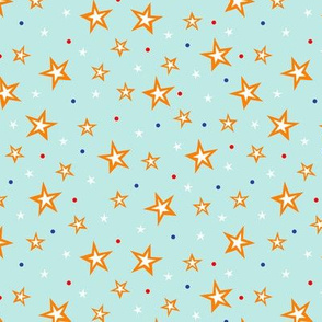 Circus Stars (Light Blue)
