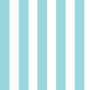 Blue and white stripes large // trendy kids nursery baby boy sea ocean marine nautical paradise island curtains bedding crib sheet