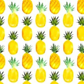 Pineapples love || watercolor