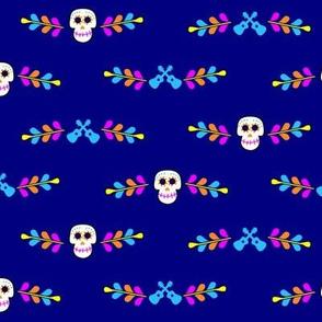 Sugar Skulls Border 002