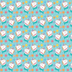 Mini Mernicorns Micro Pattern