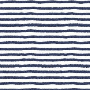 Navy Stripe by Angel Gerardo