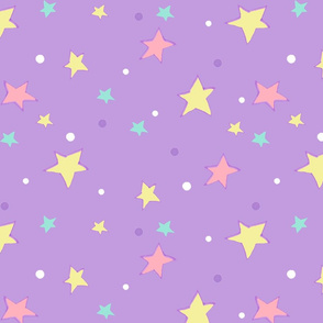 Unicorn Starry Sky