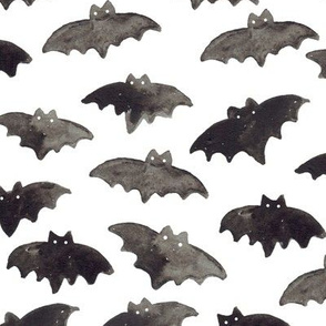 Watercolor Bats (Large)