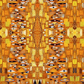 Golden Klimt Eye
