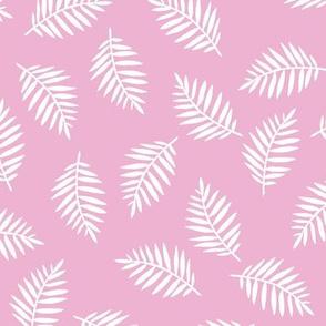 Rainforest Lilac Palm Leaves