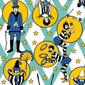 Circus Performers - Mint