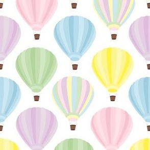 Pastel Hot Air Balloon