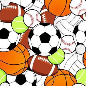 Sports Balls Pattern