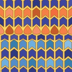 Egyptian Inlay - Chevrons