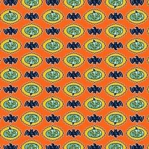 Halloween Hoopla - Pumpkin Medallion - Orange