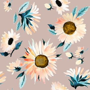 Indy Bloom Design Peachy Sunflower C