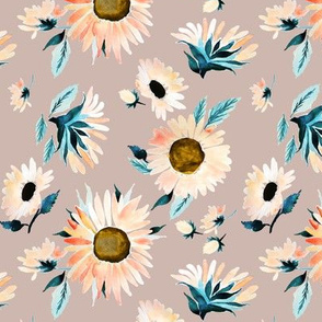 Indy Bloom Design Peachy Sunflower B