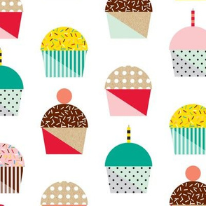 Memphis Cupcakes