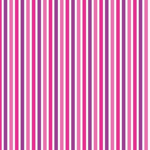Gymnast Stripe Purple / bright stripe fabric