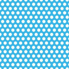 Blue Bright Dot / blue polka dot