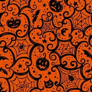Spooky_Cobwebs_Black_on_Orange