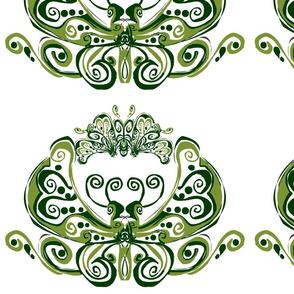 Pretty Green Butterfly