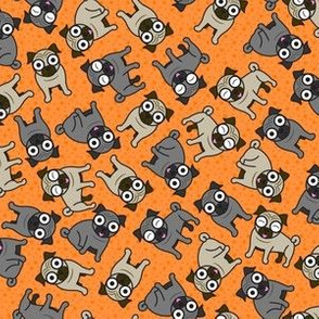 Pug-a-Dot (Orange Small)