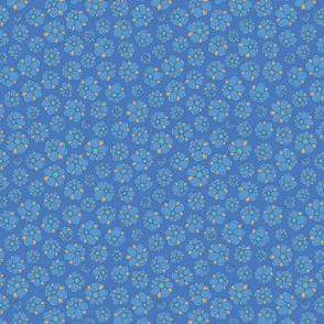 smallFlowers blue/yellow