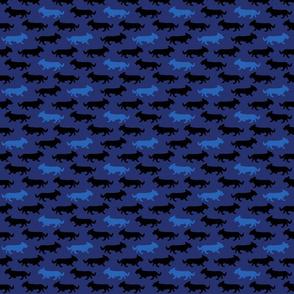 Small Blue Camo Cardigans