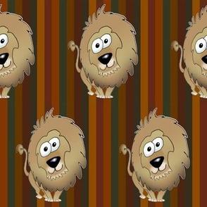 Cartoon Lion.