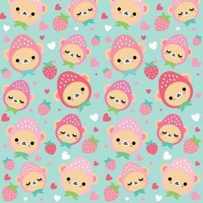Cute Strawbeary Print