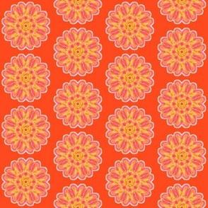 flower power tangerine