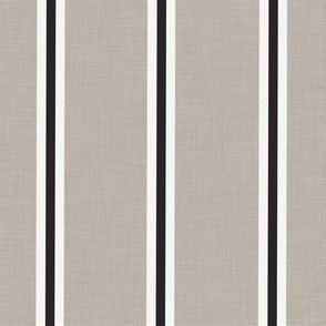 Farmhouse stripe french ticking stripe black white french gray modern farmhouse fabric grainsack feedsack
