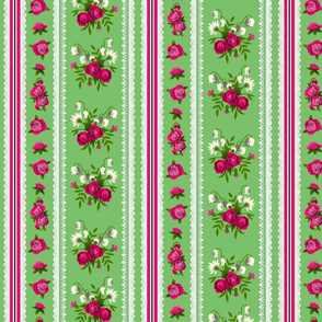 Small Rose Ticking 3