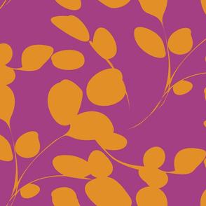 Pink & Gold eucalyptus