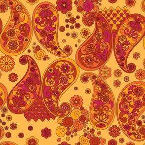 Ethnic boho ornament