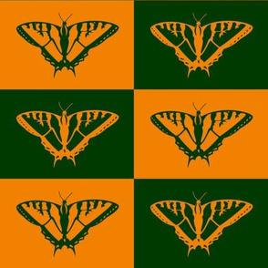 Retro Butterfly, Swallowtail