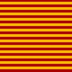 Stripe- Red and orange